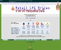 ราคาก๊าซหุงต้มวันนี้ - eppo.go.th/retail_LPG_prices.html