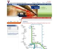 แผนที่เส้นทางรถไฟฟ้าบีทีเอส - bts.co.th/th/map.asp