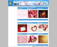 การ์ดวาเลนไทน์ - e-greeting-cards.com/e-valentine-card.php