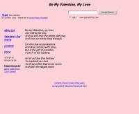 กลอนวันวาเลนไทน์ภาษาอังกฤษ - poemsforfree.com/bemyv3.html
