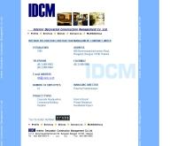 อินทีเรีย เดคคอเรชั่น คอนสตรัคชั่น แมเนจเมนท์ - idcm.co.th