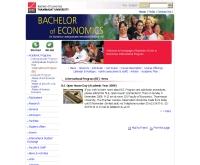 คณะเศรษฐศาสตร์ มหาวิทยาลัยธรรมศาสตร์ (ภาคภาษาอังกฤษ) - econ.tu.ac.th/be