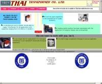 บริษัท ไทยทรานสฟอร์มเมอร์ จำกัด - thaitran.com