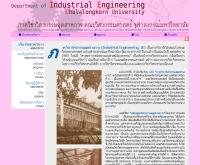 คณะวิศวกรรมศาสตร์ ภาควิชาวิศวอุตสาหกรรม จุฬาลงกรณ์มหาวิทยาลัย  - ie.eng.chula.ac.th/