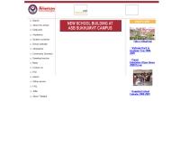 อเมริกันสคูลออฟบางกอก - asb.th.edu