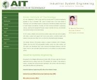 สาขาวิชาวิศวกรรมอุตสาหกรรม - ise.ait.ac.th/