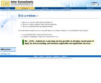 สำนักงานกฎหมาย และ บัญชี อินเตอร์คอนซัลแตนท์ จำกัด - interco.co.th