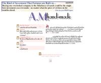 เอ.เอ็ม. แฮนด์-เมด - angelfire.com/wy/amhandmade/index.html