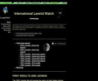 อินเตอร์เนชันแนลลีโอนิดส์ - leonid.arc.nasa.gov/watch.html