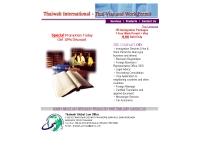 บริษัท ไทยวา โกลบอล เซอร์วิส แอนด์ มาร์เก็ตติ้ง จำกัด - geocities.com/thaiwah_services