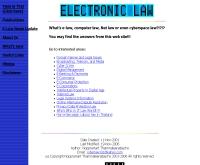 กฎหมายอิเล็กทรอนิกส์เพื่อการศึกษา - geocities.com/elaw007
