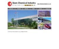 บริษัท สยามเคมีคอลอินดัสตรี้ จำกัด - siamchem.com