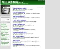 เฟิร์สเบสดิฟเฟอร์เร้นท์ - firstbestdifferent.com