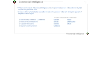 คอมเมอร์เชียล อินเทลลิเจนซ์ - commercial-intelligence.net