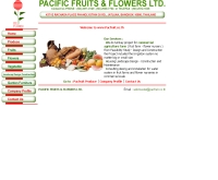 บริษัท แปซิฟิก ฟรุ๊ตแอนด์ฟลาวเวอร์ จำกัด - pacfruit.co.th