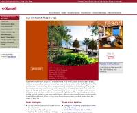 หัวหิน มาริออต รีสอร์ท แอนด์ สปา - marriotthotels.com/property/propertyPage/HHQMC
