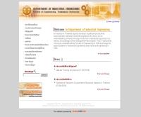 คณะวิศวกรรมศาสตร์ ภาควิชาวิศวกรรมอุตสาหการ มหาวิทยาลัยธรรมศาสตร์ - ie.engr.tu.ac.th