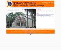 สถาบันพัฒนาการสาธารณสุขอาเซียน - aihd.mahidol.ac.th/