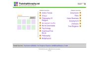 ไทยดูฟิโลโซฟีดอทเน็ต - thaisdophilosophy.net