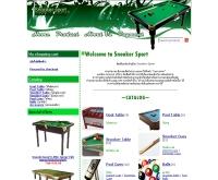 ห้างหุ้นส่วนจำกัด สนุ้กเกอร์ สปอร์ต - snookersport.net