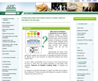 ศูนย์ข้อมูลข่าวสารด้านอาหารแห่งเอเชีย - afic.org