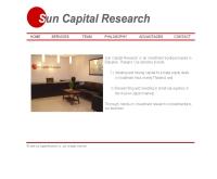 ซัน แคปปิตัล รีเสิร์ช - suncapitalresearch.com