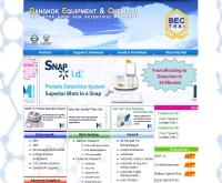 บริษัท เบคไทย กรุงเทพ อุปกรณ์เคมีภัณฑ์ จำกัด - becthai.com/