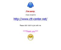 ซีทีที เซ็นเตอร์ : CTT Center - geocities.com/siriporn_ctt/