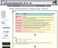 หน่วยปฏิบัติการวิจัย และพัฒนาเทคโนโลยีคอมพิวเตอร์สมรรถนะสูง - hpcc.nectec.or.th/