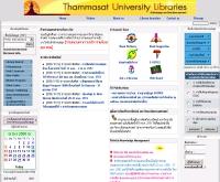 สำนักหอสมุด มหาวิทยาลัยธรรมศาสตร์ - library.tu.ac.th/newlib2/index.asp