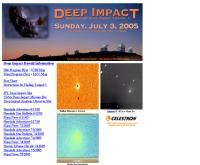 กล้องโทรทัศน์ซีจีอีของฮาวาย : ดีพ อิมแพค - astroday.net/DeepImpactHawaii.html