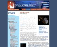 เพลนเนทารี่ : ดีพ อิมแพค - planetary.org/deepimpact/index.html