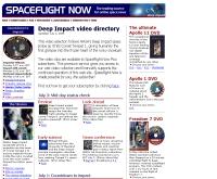 สเปซไฟท์นาว : ดีพอิมแพค - spaceflightnow.com/deepimpact/video.html
