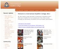 วิทยาลัยพุทธศาสนานานาชาติ - ibc.ac.th/
