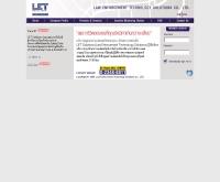 บริษัท ลอว์ เอ็นฟอร์ซเม้นท์ เทคโนโลยี โซลูชั่นส์ จำกัด - letsolutions.co.th/