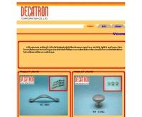 บริษัท เดคาตรอน คอร์ปอเรชั่น จำกัด - decatron.co.th/