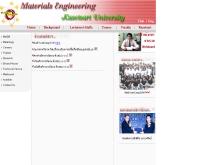 ภาควิชาวิศวกรรมวัสดุ คณะวิศวกรรมศาสตร์ มหาวิทยาลัยเกษรศาสตร์ - eng.ku.ac.th/~mat/