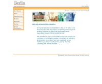 บริษัท เบอร์ลินฟาร์มาซูดิคอลอินดัสตรี้ จำกัด - berlinpharm.com/