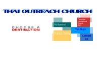คริสตจักรไทยเอ้าท์ริช  - thaioutreach.org