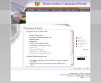 สถาบันวิจัยมหาวิทยาลัยอัสสัมชัญ - riau.au.edu/