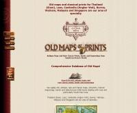 ร้านโอลด์ แม็ป แอนด์ พริ้นท์  - classicmaps.com