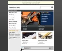 โน๊ตเปียโน - notepiano.com