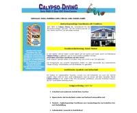 คาลิปโซไดฟวิ่ง - calypso-diving.com