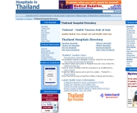 ฮอสพิทัล อิน ไทยแลนด์ - hospitals-in-thailand.com