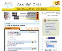 สโมสรนักศึกษา คระบริหารธุรกิจ ม.ช.\'48 - ba.cmu.ac.th/student