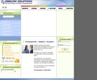 บริษัท อิงลิชโซลูชั่นส์ จำกัด - englishsolutions.co.th
