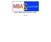 บริษัท เอ็มบีเอ โซลูชั่น จำกัด  - mba-solution.com
