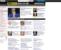 บีบีซี : ฟุตบอลโลก 2006 - news.bbc.co.uk/sport1/hi/football/world_cup_2006/default.stm