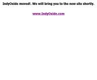 อินดี้ออกไซด์ - kiteronline.com/indy