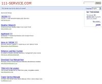111เซอร์วิสดอดคอม - 111-service.com